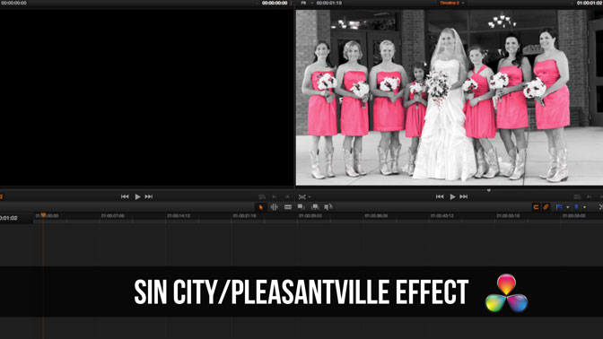 DaVinci-Resolve-Sin-City-Effect