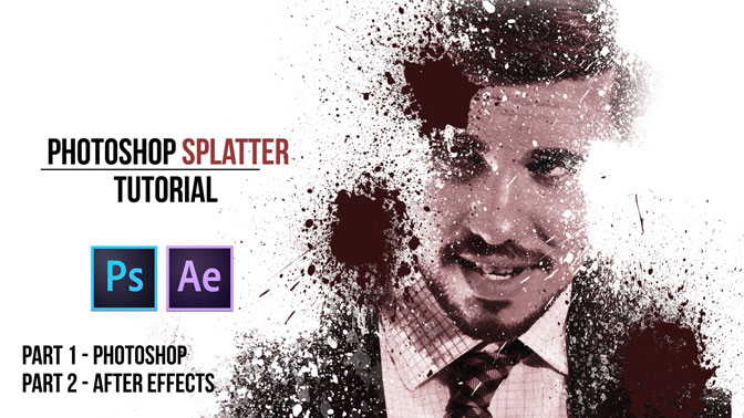 Photoshop-Dispersion-Effect