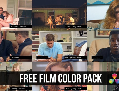 DaVinci Resolve: FREE LUT Color Correction Pack Giveaway