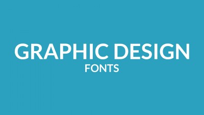 Graphic Design Fonts