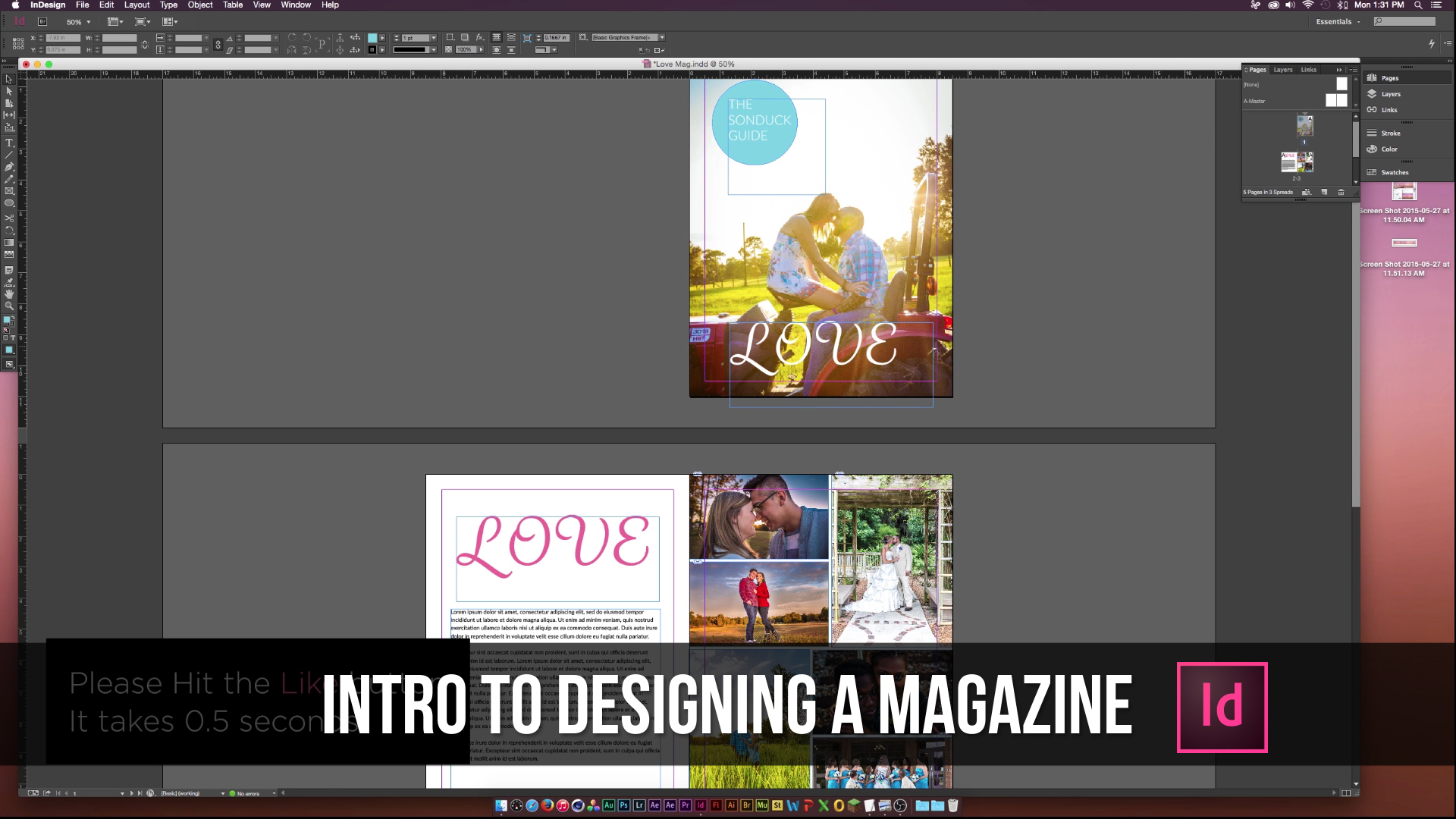 Indesign Tut
