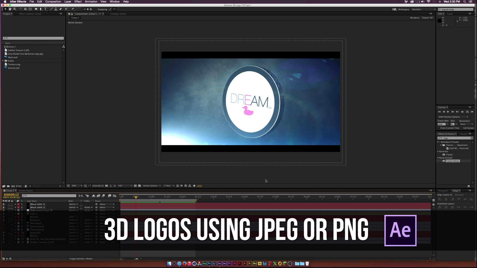 Sonduck Element 3D logo