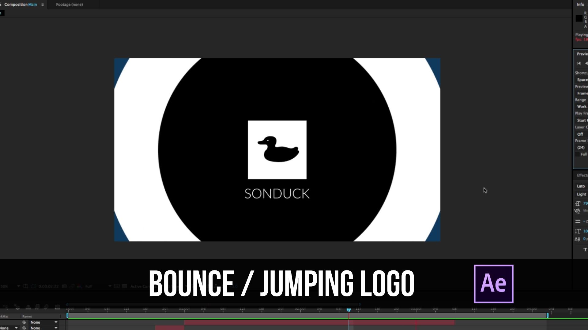 Sonduck Bounce Logo