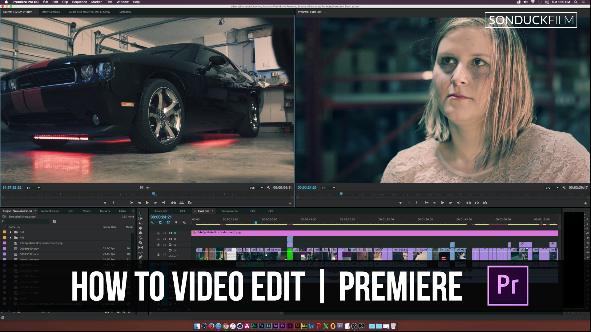 Adobe Premiere Cc: How To Edit With Adobe Premiere Sonduckfilm How To Edit  Videos With