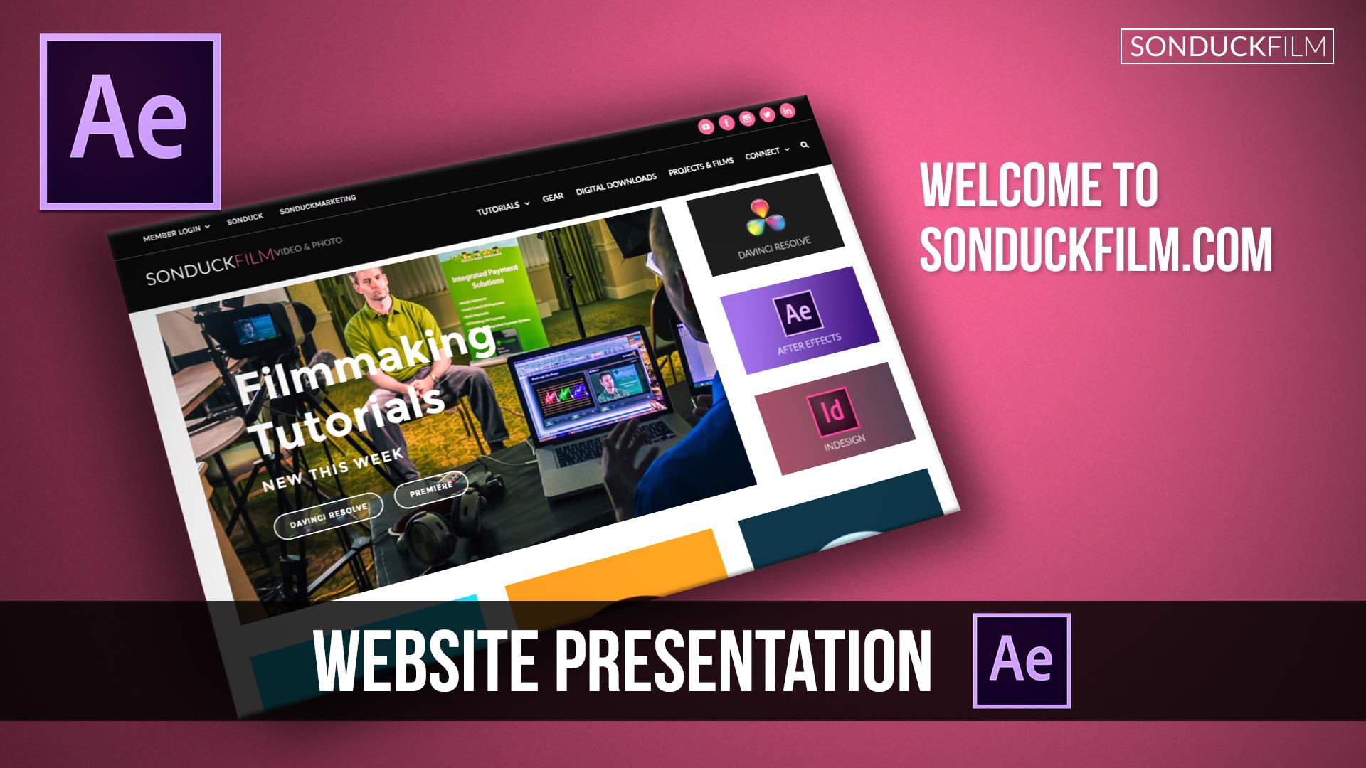 After-Effects-Tutorial-Website-Presentation