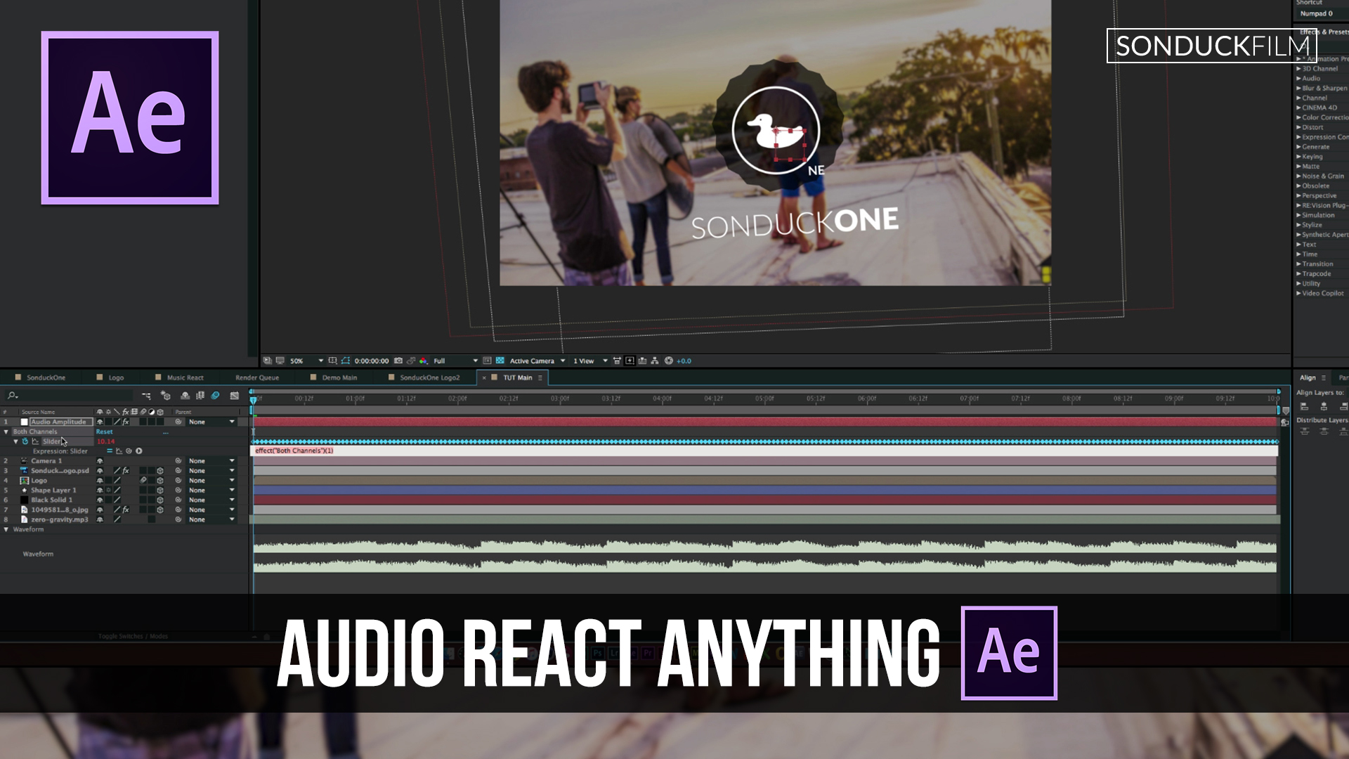 After-Effects-Tutorial-Audio-React-Anything