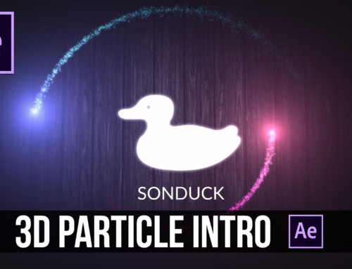 After Effects: 3D Particle Intro + Free Download