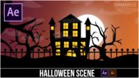 After-Effects-Tutorial-Cartoon-Animation-Halloween-Scene