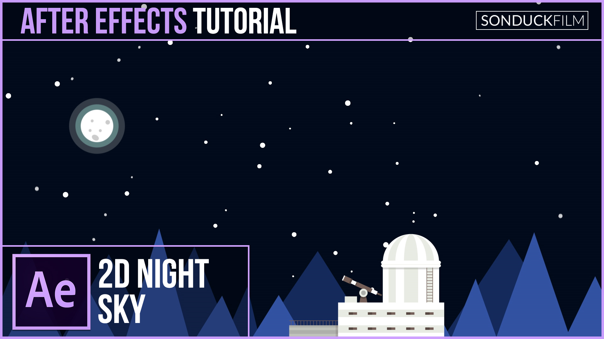 After-Effects-Tutorial-2D-Nighttime-Scene
