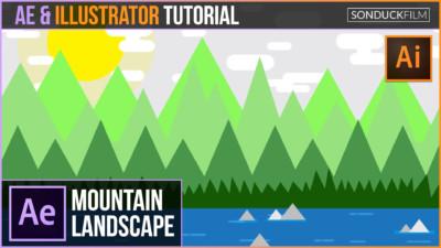 Mountain-Landscape-Animation