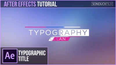 After-Effects-Tutorial-Clean-Typography-Title