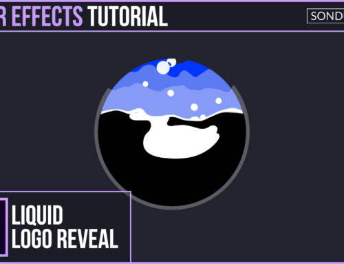 After Effects: Liquid Bubble Logo Reveal Effect