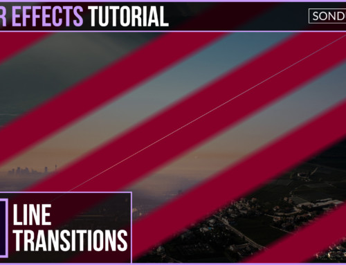 After Effects: Line Swipe Transitions
