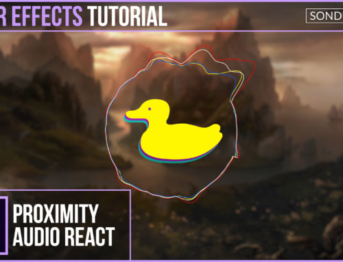 After Effects: Proximity Ring Audio Reaction