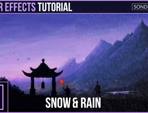 After Effects: Create SNOW and RAIN with Particles
