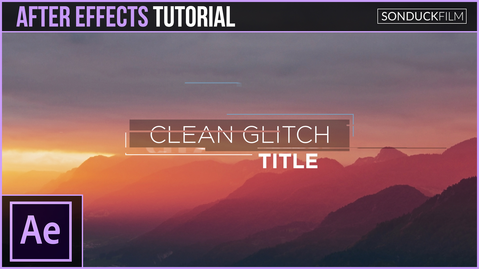 After-Effects-Tutorial-Clean-Glitch-Titles