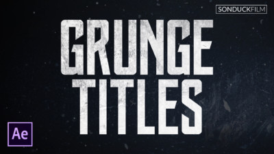 Create-Grunge-Titles-in-After-Effects