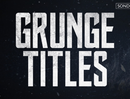After Effects: Create Motion Grunge Titles