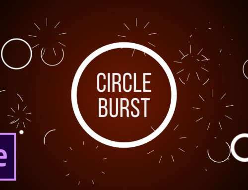 4 Great Circle Burst Motion Graphics in After Effects