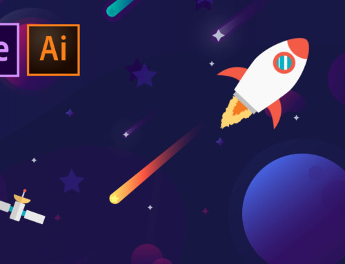 Create a Cartoon Space Vector Animation