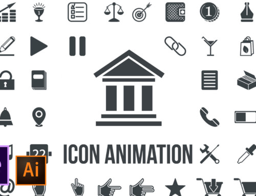 Icon Design and Animation | Illustrator to After Effects