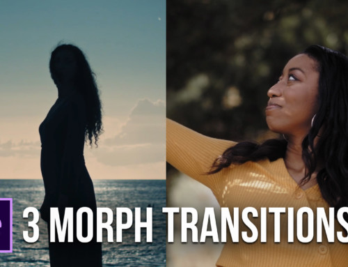 Create 3 Popular Morph Transitions