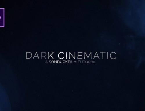 Create Dark Cinematic Title Motion Graphics