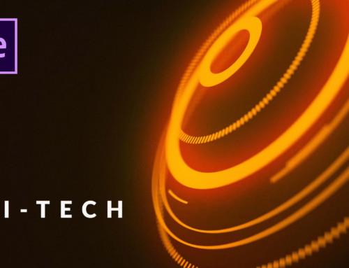 Create Hi-Tech Motion Graphic Title Scenes