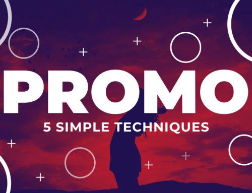 5 Simple Motion Graphic Promo Techniques