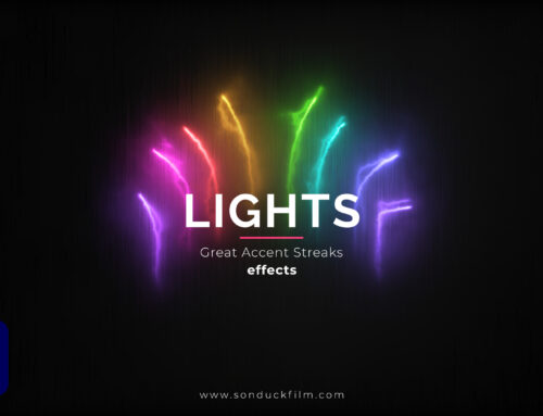 Light Streak Accent Motion Graphics