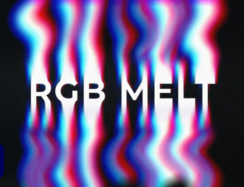 Create Warped RGB Liquid Melt Typography in After Effects