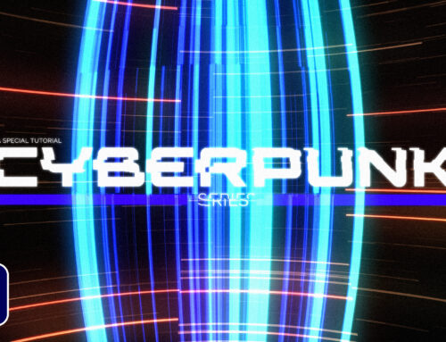 4 Cyberpunk Effects For Motion Graphics in After Effects