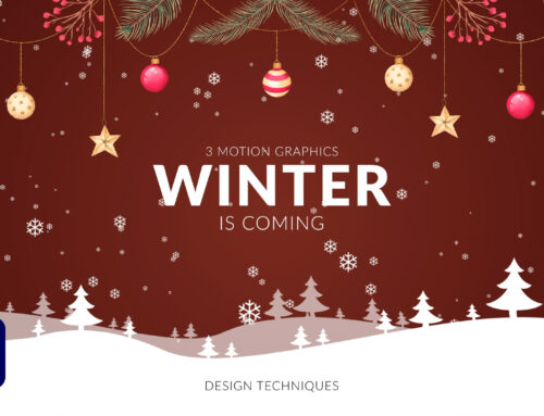 3 Winter Christmas Motion Graphics Techniques in After Effects