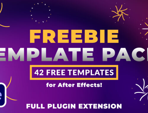Freebie After Effects Extension Template Pack | 42 Free Templates