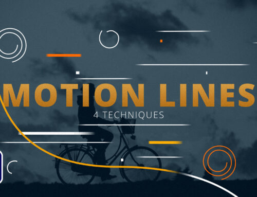 4 Line Motion Accent Graphic Techniques in After Effects