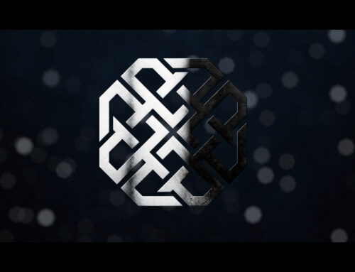 Cinematic Shiny Particle Logo Intro in After Effects