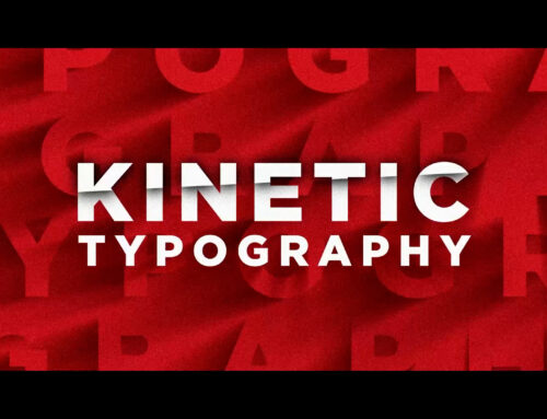 3 Title Kinetic Motion Graphics Techniques