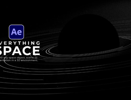 Space Solar System Motion Graphics Animation in After Effects