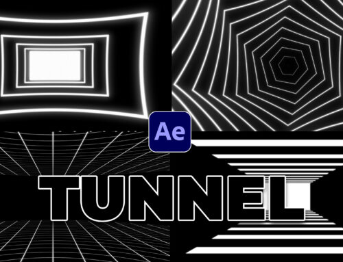 4 Tunnel Loop Motion Graphic Techniques in After Effects