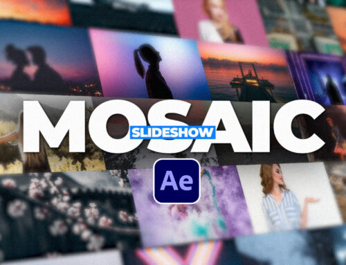 Create an Easy 3D Mosaic Slideshow Effect in After Effects